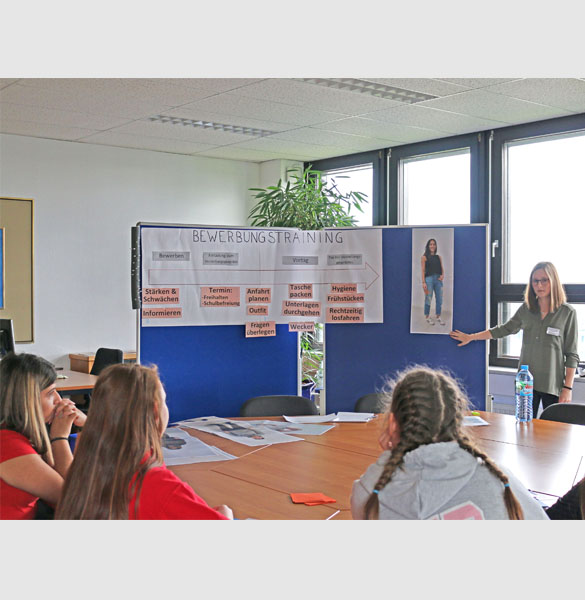 Das Bewerbungstraining am Girls & Boys Day